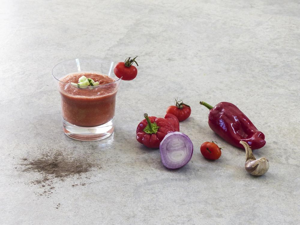 diospiro hot cold gazpacho simple healthy