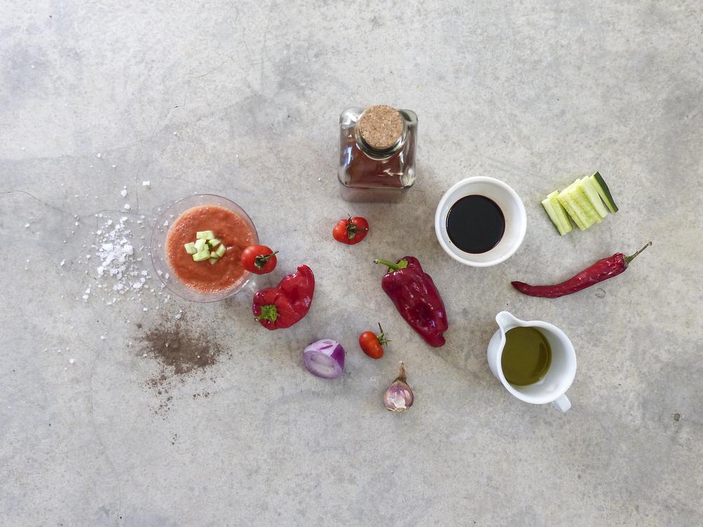 diospiro gazpacho simple healthy ingredients