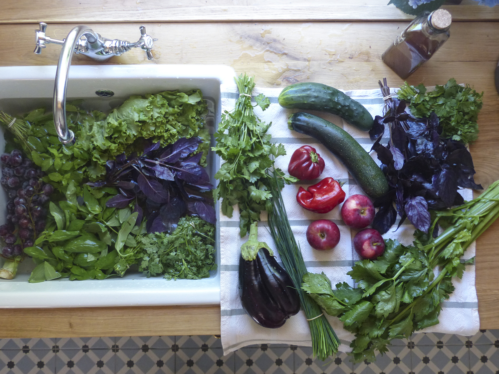fruit veggie wash up simple healthy