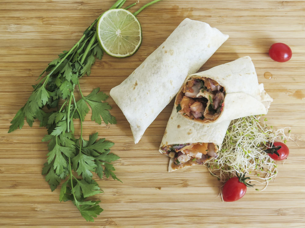 simple healthy habits diospiro exotic peanut veggie wrap