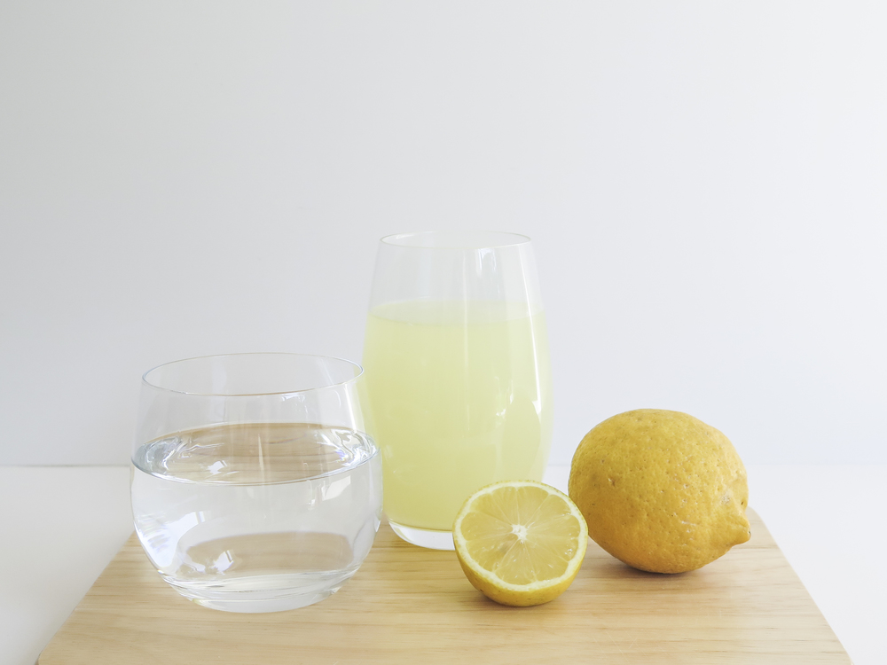 simple healthy habits morning lemon water diospiro