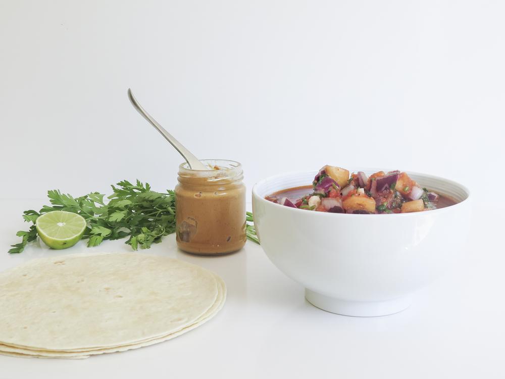 wrap veggie vegetariano exotico simple healthy diospiro saudavel ingredientes