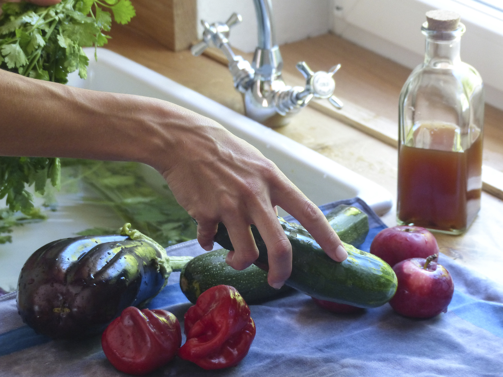 lavar armazenar frutas vegetais poupar tempo durar mais diospiro simple healthy