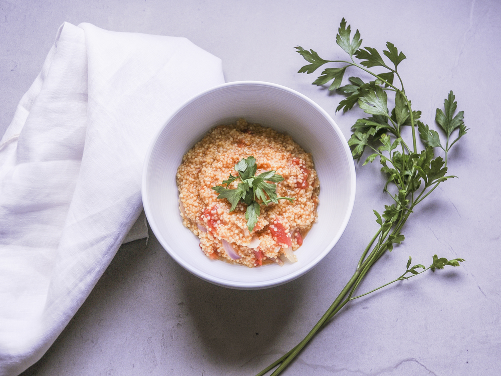 diospiro simples saudavel receita millet tomate
