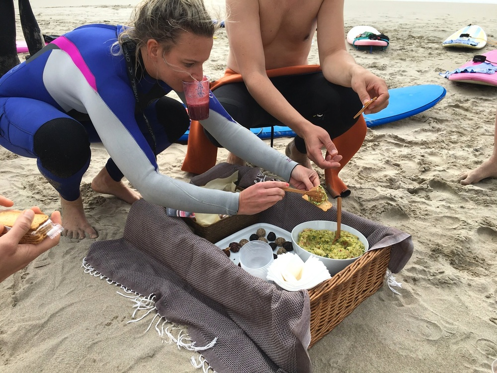 diospiro surf camp pineapple berry smoothie