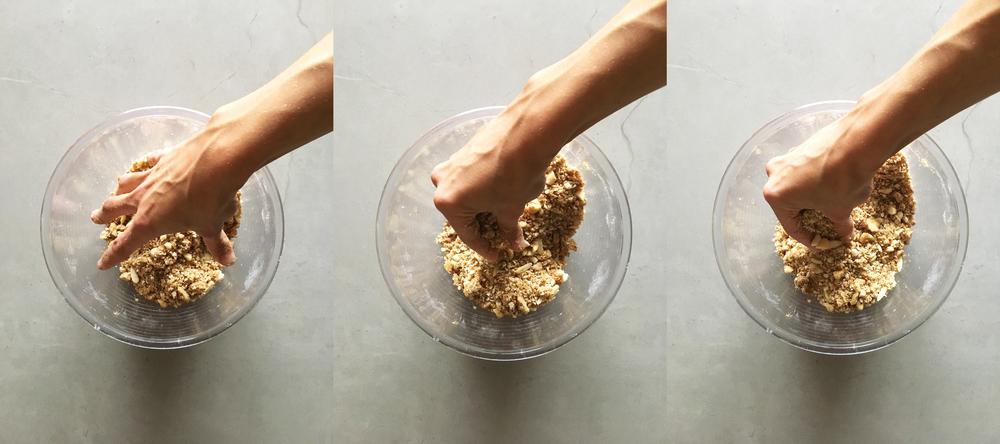 diospiro crumble simples saudavel esfarelar