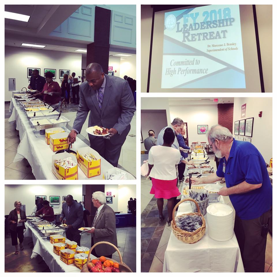 We had a wonderful morning catering for the Clayton County Public Schools Leadership Retreat! We are excited to get the 2017-18 school year kicked off as a Clayton County Partner in Education!