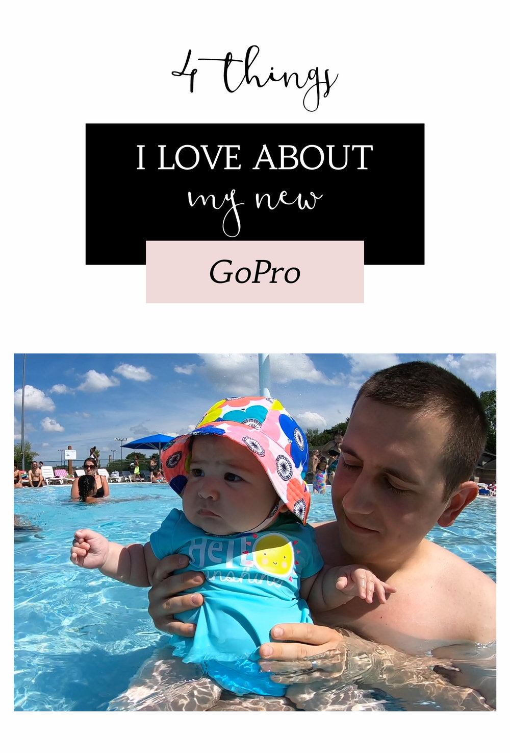 4 things I love about my new GoPro Hero6 waterproof video camera