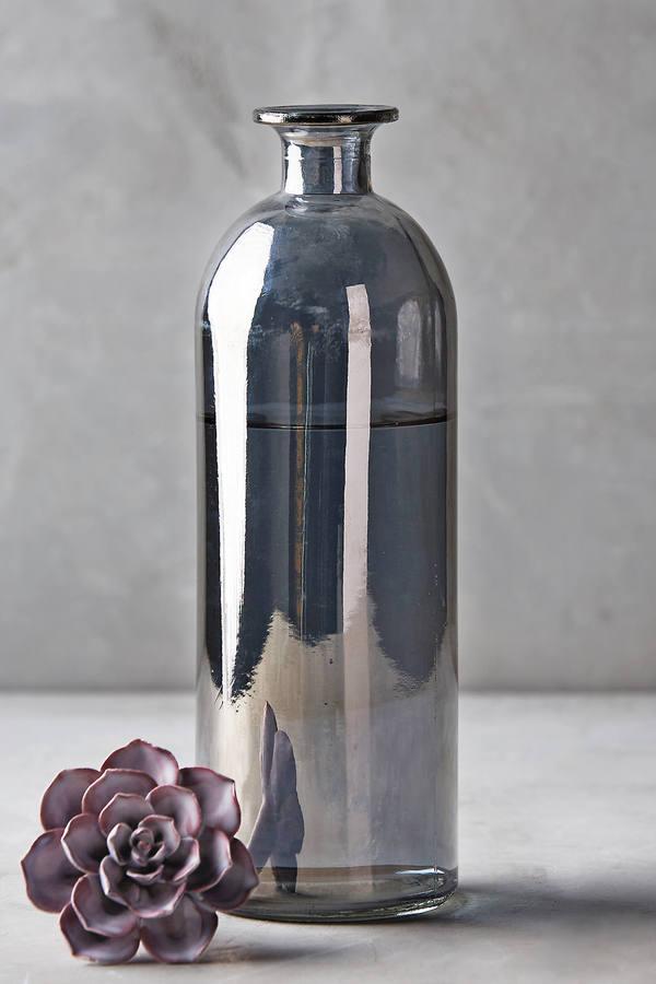glass succulent topper bottle