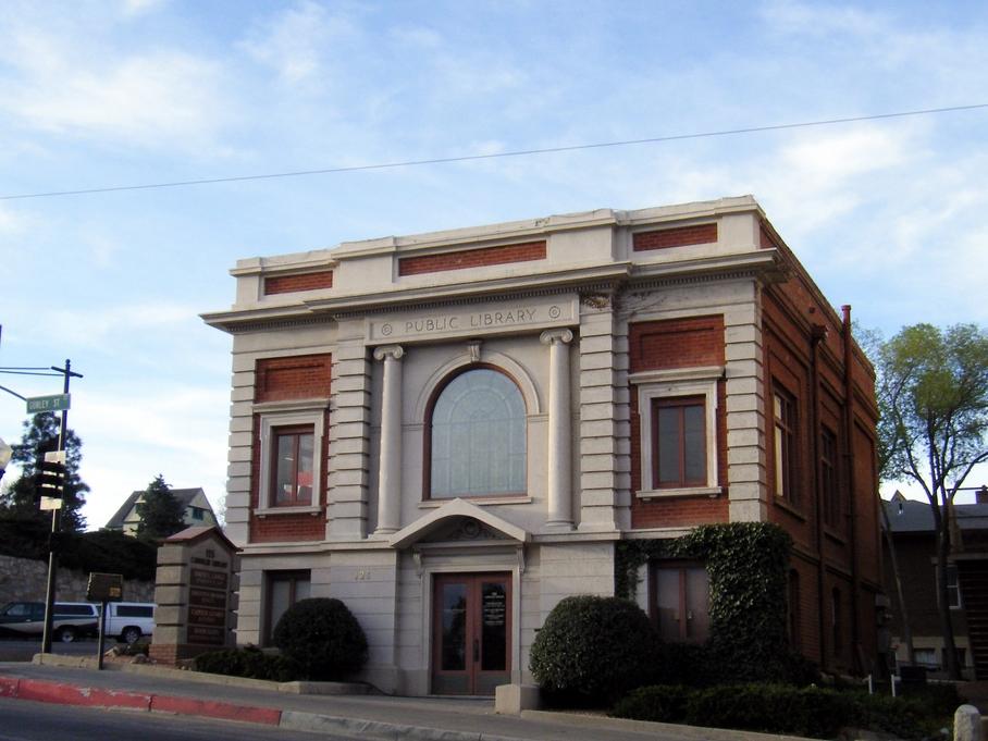 Carnegie Public Library Prescott, AZ