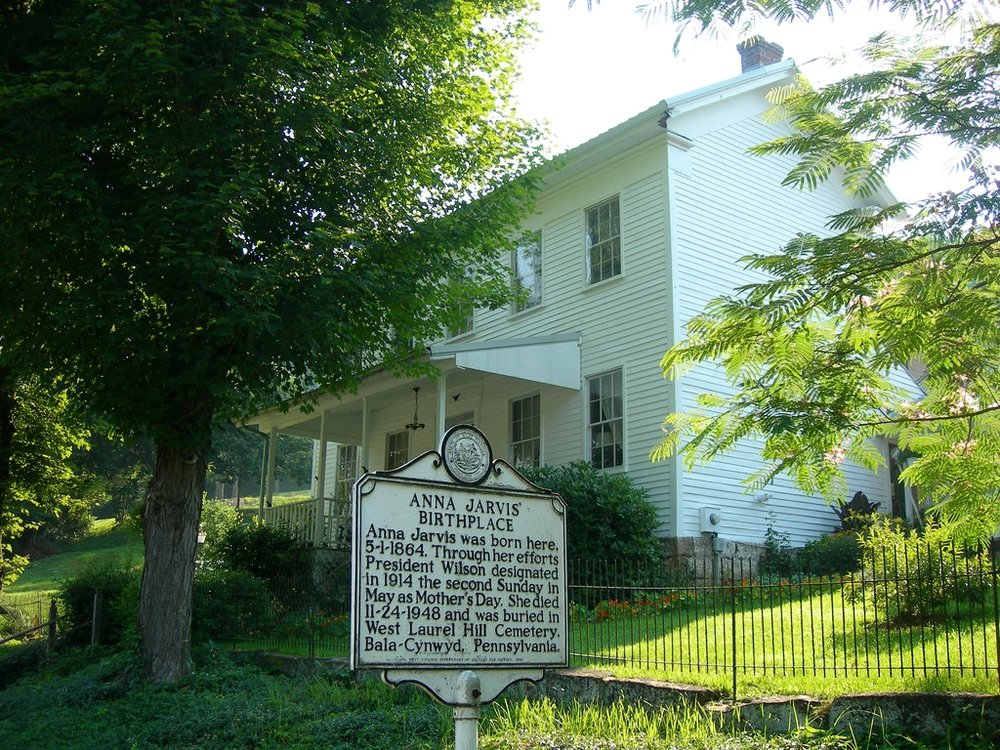 Anna Jarvis Birthplace Museum » Webster, WV