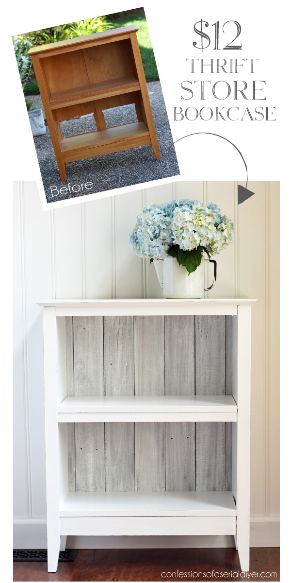 White & bright bookshelf
