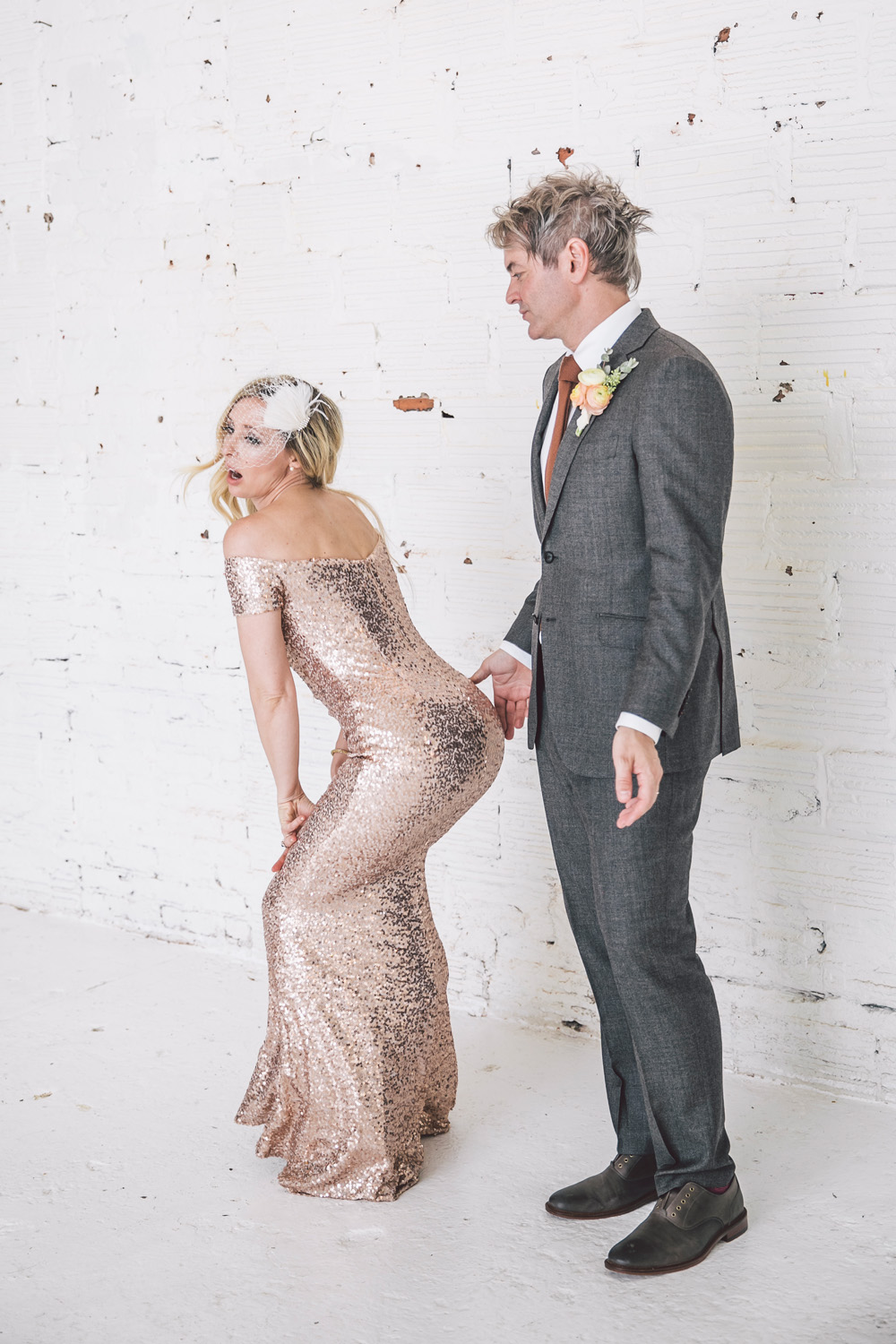 Editorial Alternative Wedding Photography in Atlanta, GA