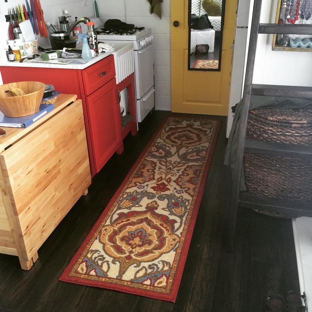 We got a rug!