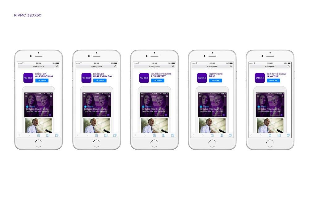 Yahoo Pivmo Banners