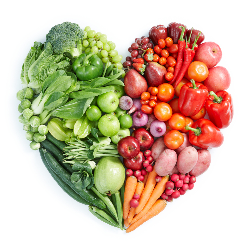 bigstock-Green-And-Red-Healthy-Food-14588906
