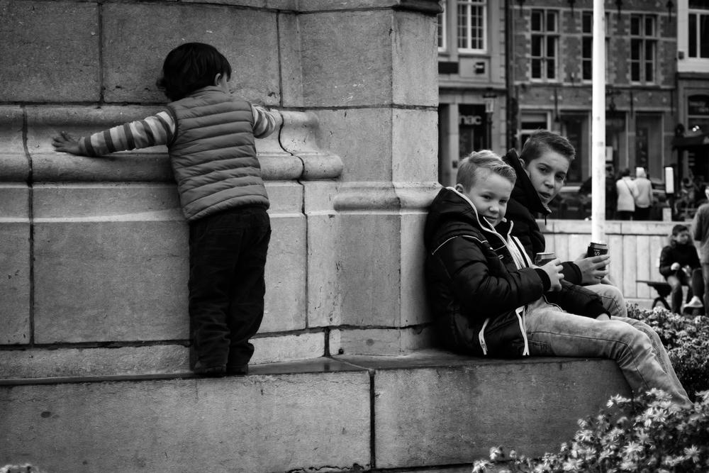 Viewfinder-straatfotografie-Grote-Markt-Brugge-Belfort