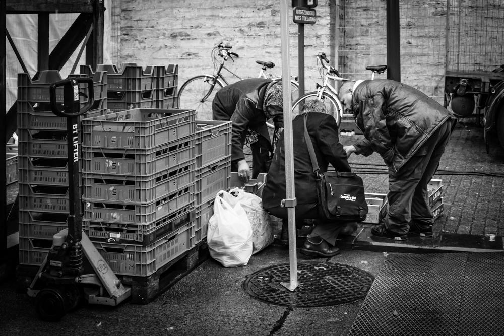 Straatfotografie in Leuven - Moet ik de marktkramer verwittigen?