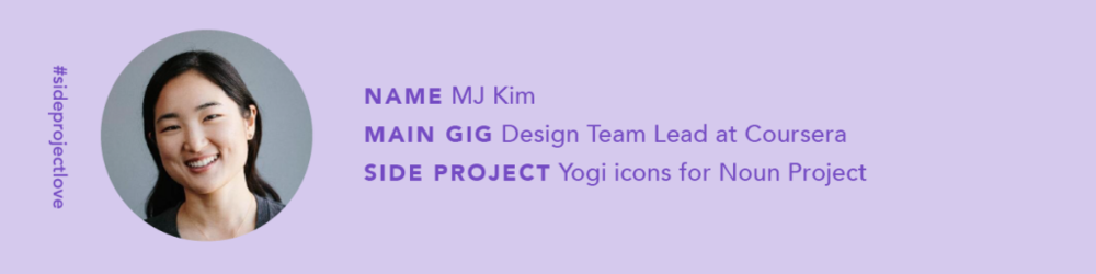 Icons created by Minjeong Kim from Noun Project, sketches courtesy Minjeong Kim, photo by Colin Price.