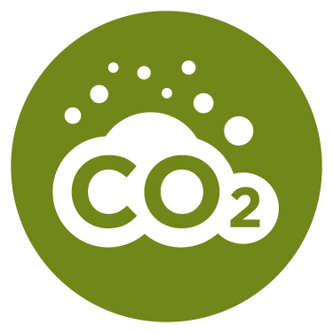 186.8 tons of CO2 Offset