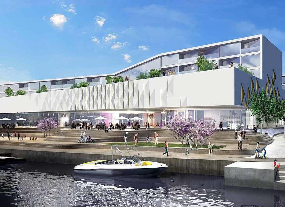 Buskerud  Udgangspunktet for projektet er udvikling og udbygning af de to eksisterende indkøbscentre Buskerud Storcenter og Krokstad Center.   Læs mere →