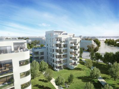 Søhave  Et byggeri der fremstår markant og smukt mod byen og søen - En repræsentant for det bedste byen har at byde på.   Læs mere →