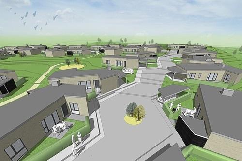 Rødtjørnen  En bebyggelse med et unikt design og rummelighed med asymmetriske gaderum og parkområder.   Læs mere →