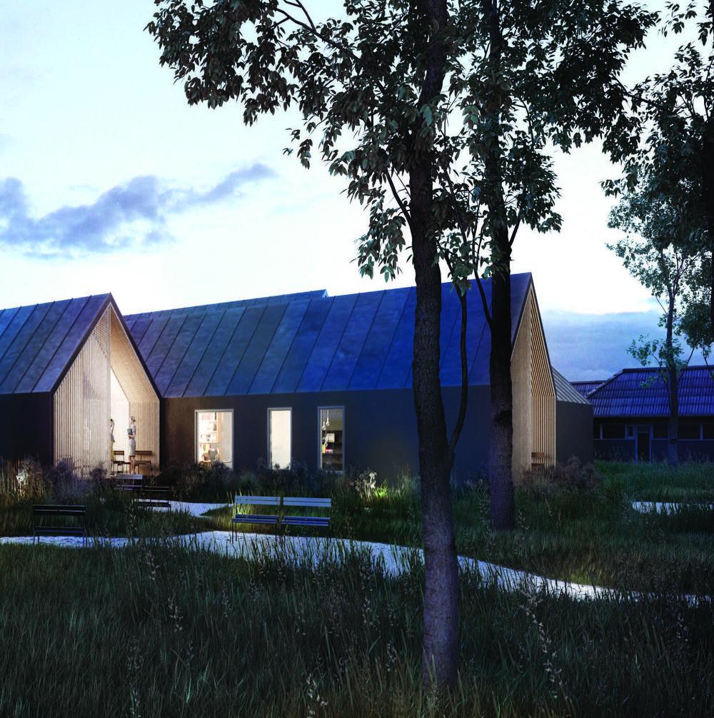 PC Ballerup  Det nye center og landskabet omkring centeret indgår som en landskabelig og planmæssig del af det samlede psykiatricenter.   Læs mere →