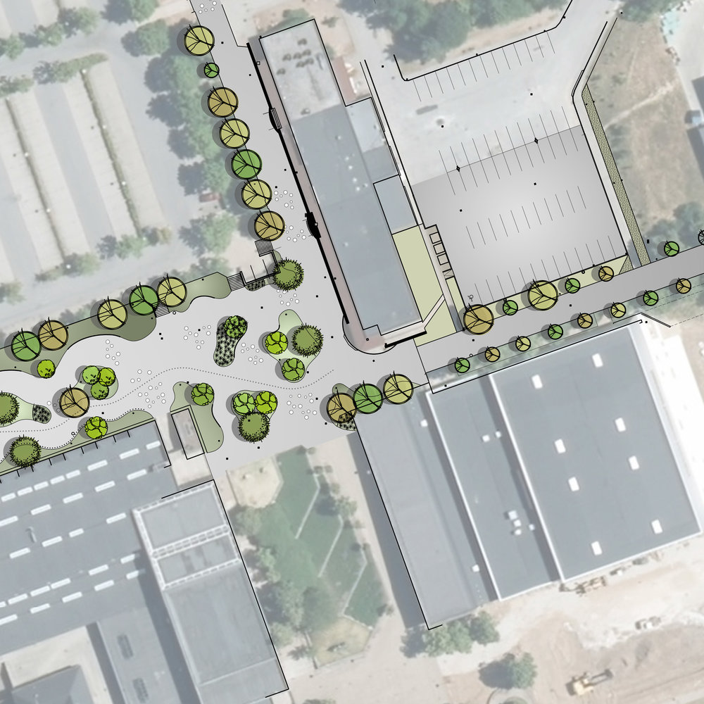 Campus Skanderborg  I forbindelse med redefinering af arealerne omkring Campus inddrages også arealerne ved og omkring Skolestien, Højvangens Torv.   Læs mere →