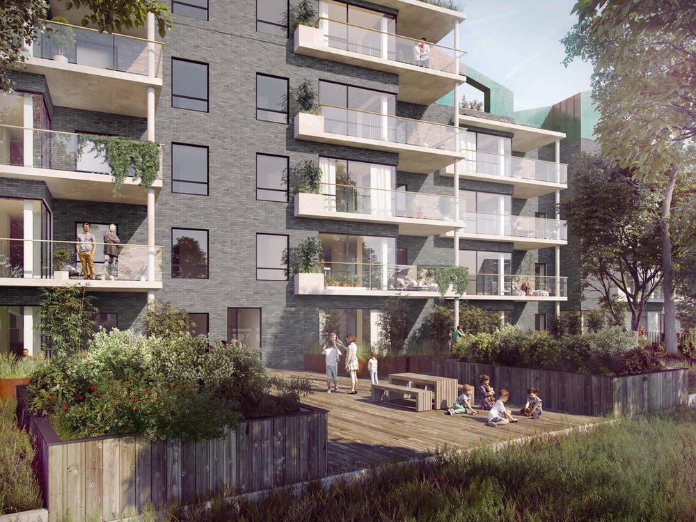 Sølystvej  På en sø nær grund i Silkeborg, på hjørnet af Sølystvej og Borgergade, opføres et større eksklusivt boligprojekt.   Læs mere →