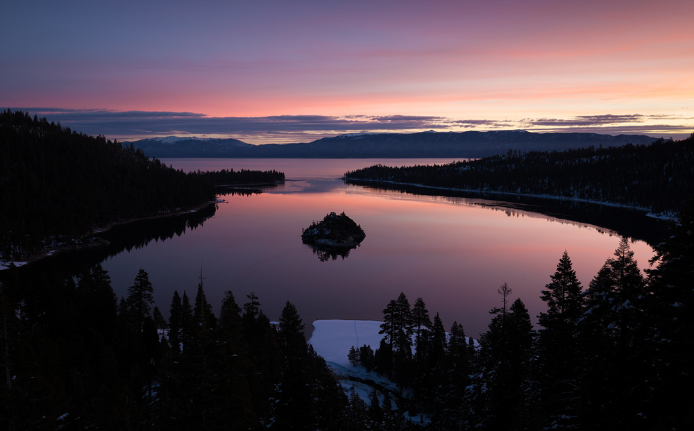 the national parks girl_lake tahoe_winter sunrise_emerald bay_canon6d.jpg