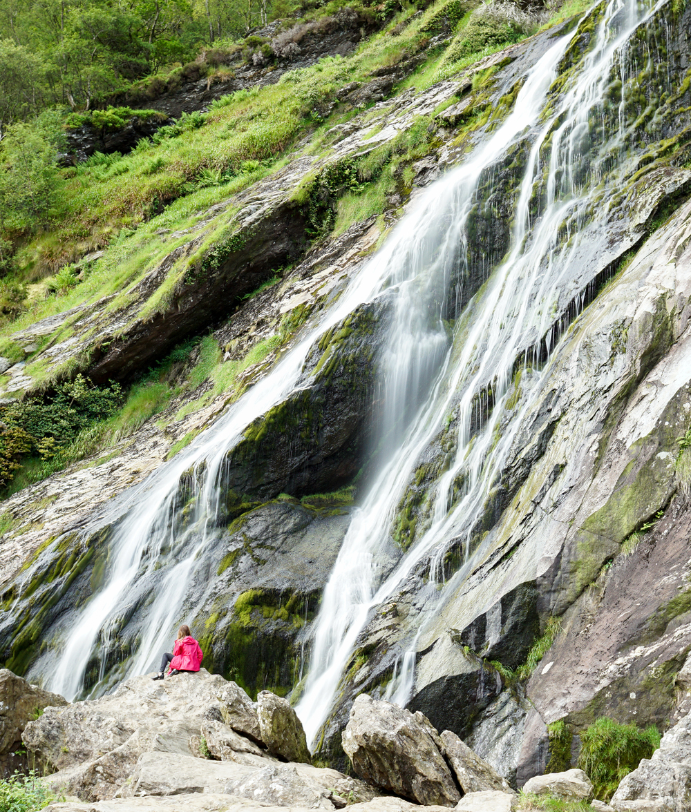 the national parks girl_ireland_sony_irish road trip_powerscourt waterfall_powerscourt gardens_waterfall.JPG