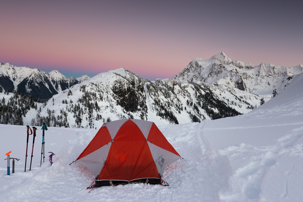 the national parks girl_mountain hardware_canon6d_mt baker_washington_north cascades_winter camping_tangent 2 tent.JPG