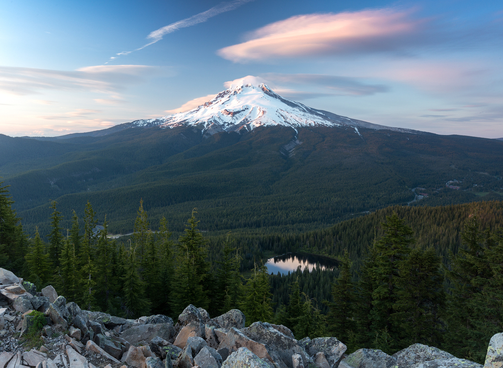 the national parks girl_mt hood_national forest_mountain_canon_tom dick and harry mountain_oregon_lenticular clouds_sunset.JPG