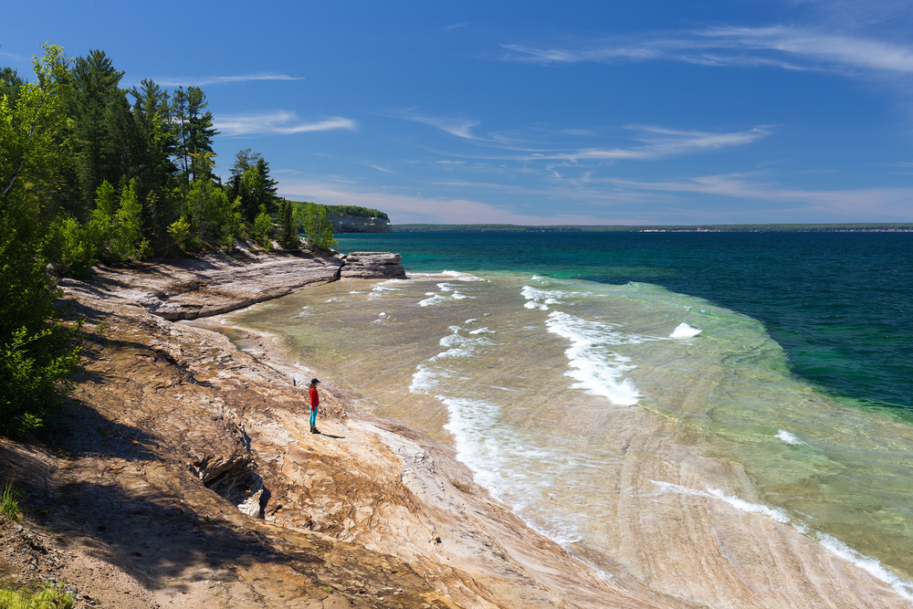 the national parks girl_pictured rocks national lakeshore_chapel loop_beaver creek_canon6d-8.jpg