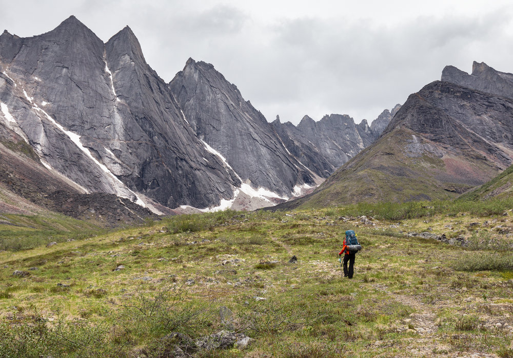 Backpacking in Gates of the Arctic