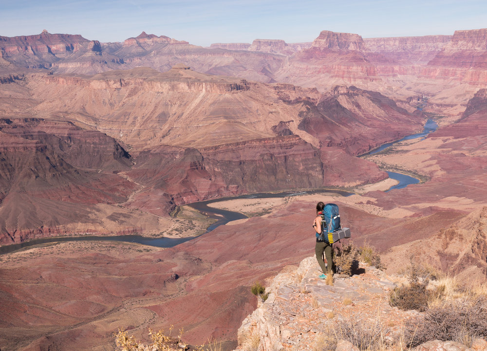 Backpacking the Tanner Trail (Grand Canyon National Park, November 2017)