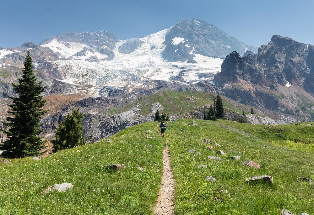 Heading to Emerald Ridge