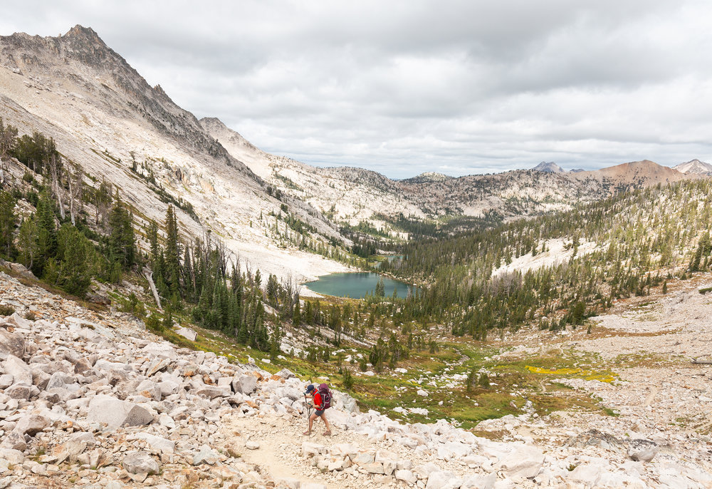 Backpacking in the Sawtooth Wilderness