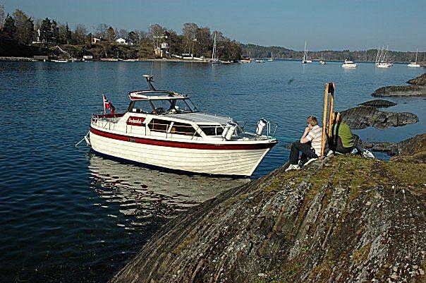 Sydenfri i Middagsbukta i Oslofjorden