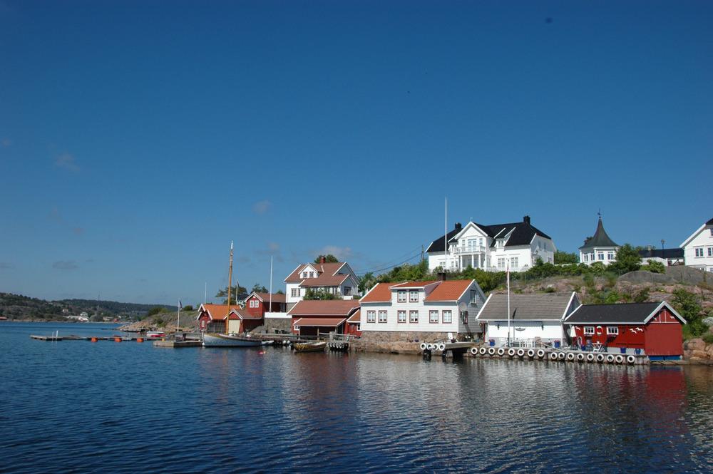 På vei ut av Lyngørgada