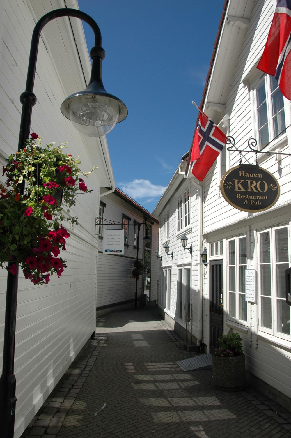 Egersund er en koslig og sjarmerende by