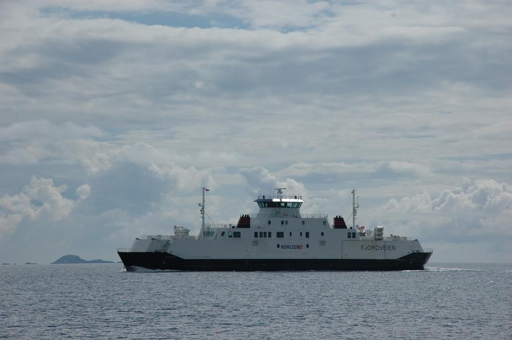 Mange ferger på Boknafjorden