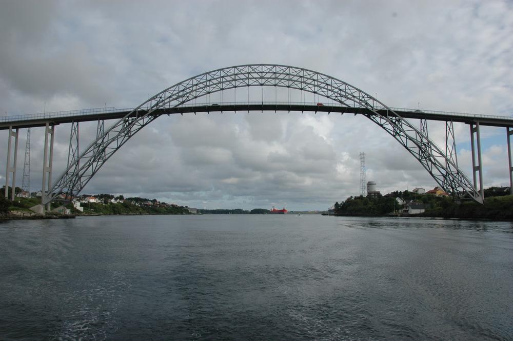 Broen over til Karmøy