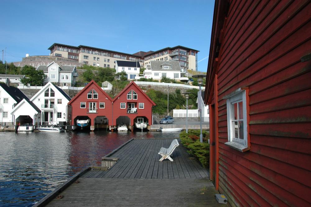 Fin liten idyll-Flekkefjord