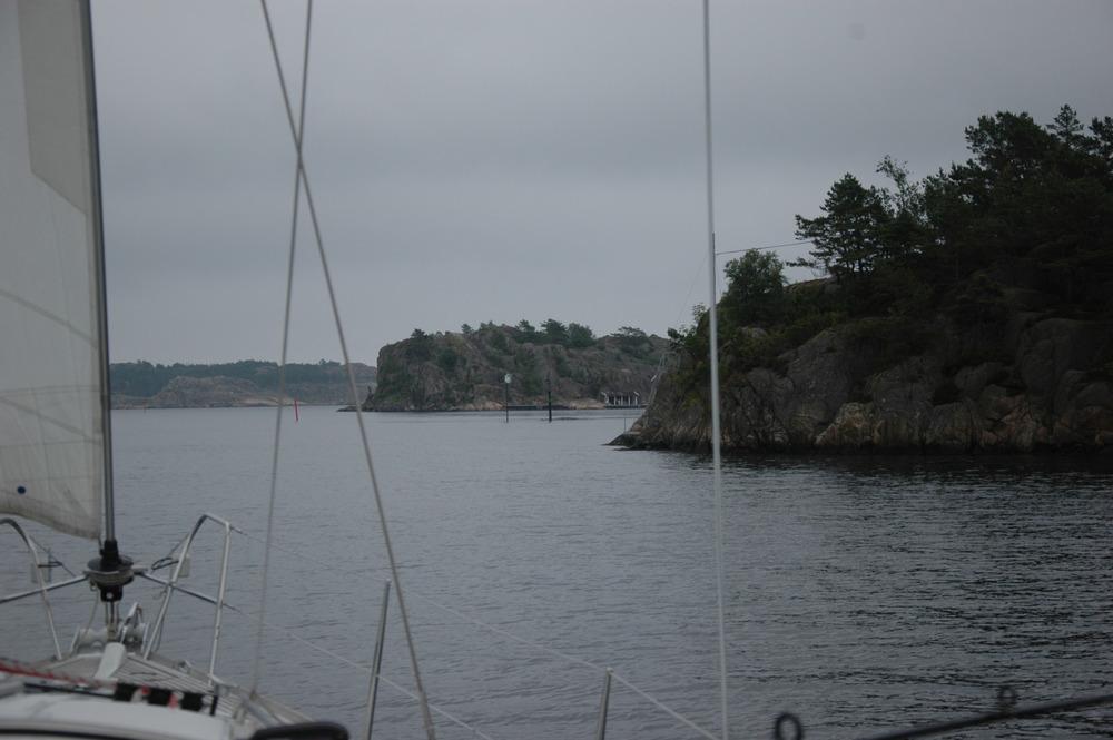 Fiskeseiling forbi Ny-Hellesund