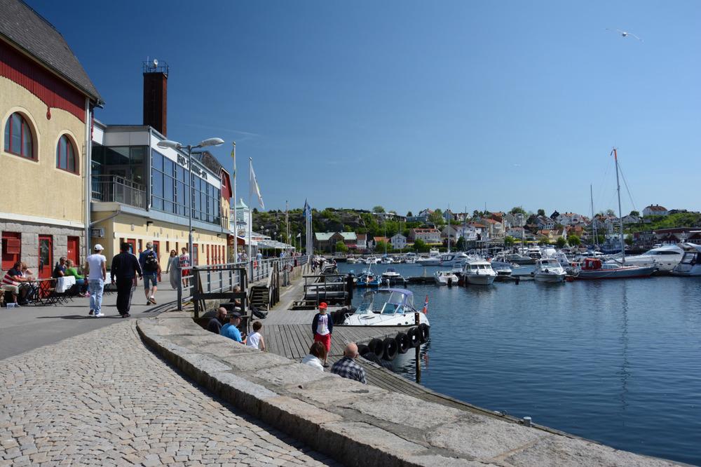 Indre havn i Strømstad