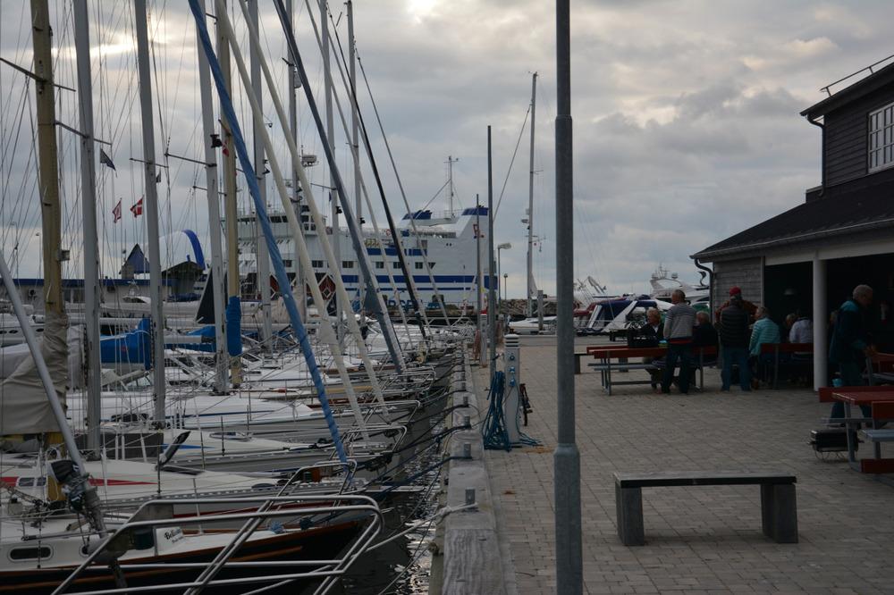 Havneboms i Vesterø havn