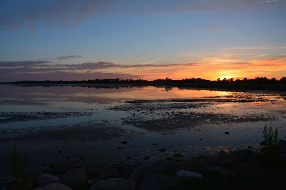 En kveldstur i Hals havn