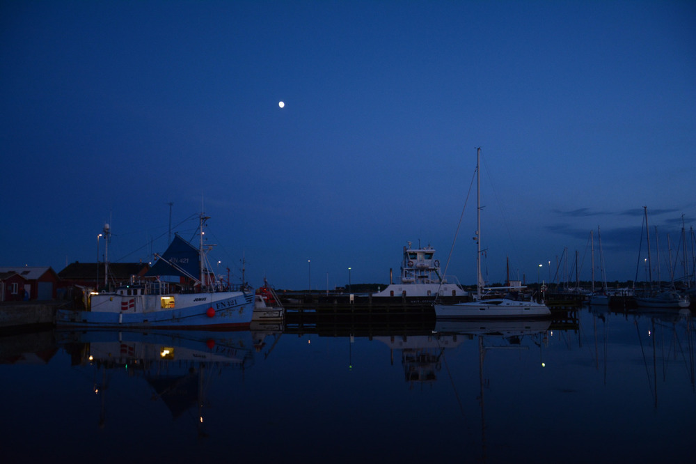 Stjerneglimt i Hals havn